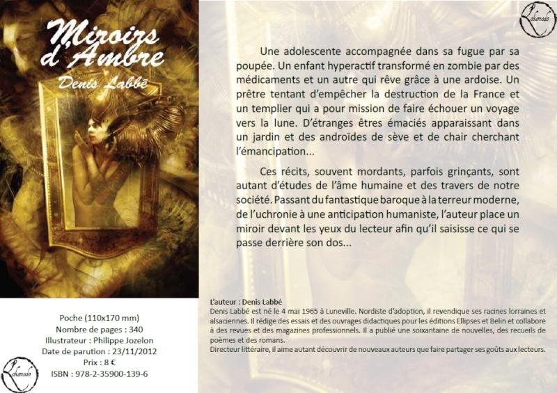 Miroirs d'ambre - Denis Labbé Miroir10