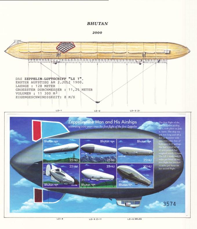 Luftschiffe von Zeppelin 2000-b10