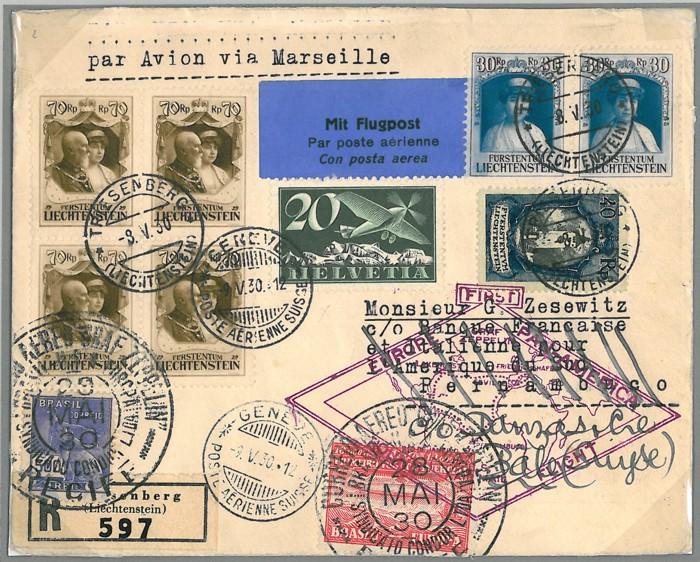 """Südamerikafahrt 1930 (Rundfahrt-) Post nach Friedrichshafen"""" - Seite 3 Abb_810"""