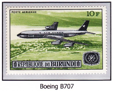 Boeing 707 B70710