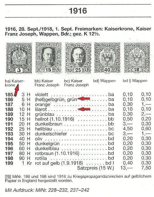 5 und 10 heller Kaiser10