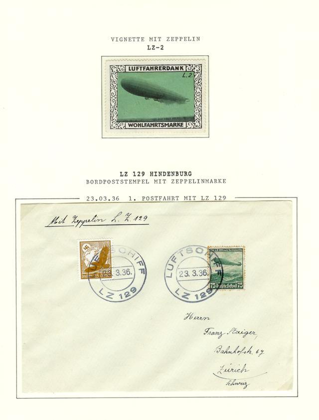 nach - Zeppelin Post Neu-210