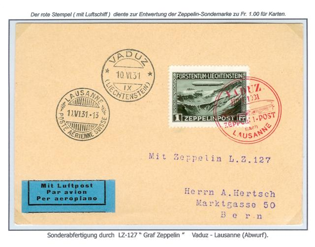 Zeppelin Post Neu-310