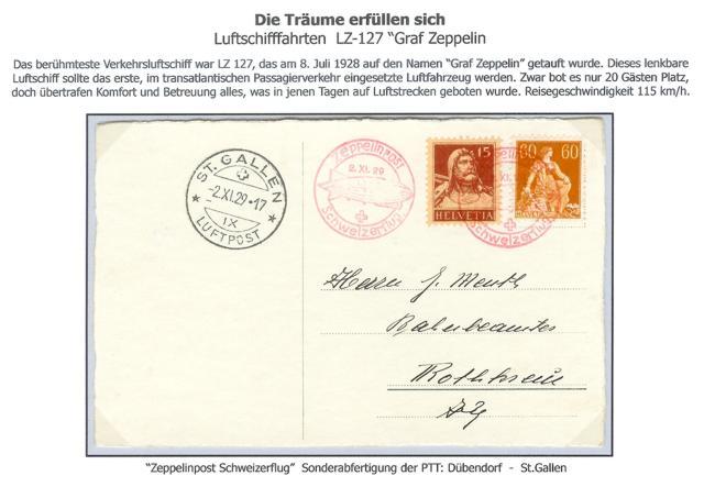 nach - Zeppelin Post Neu-410
