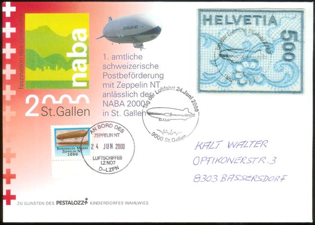 Zeppelin Post Neu-910