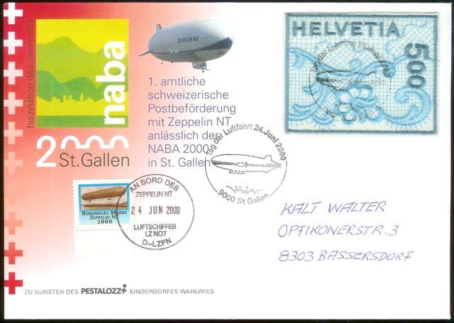 nach - Zeppelin Post Neu-910