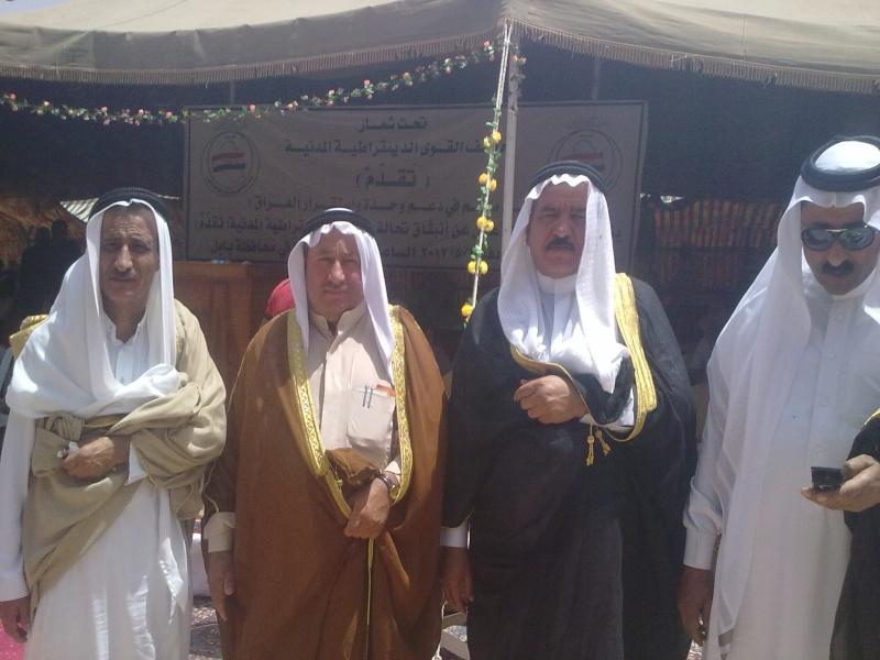 تحالف القوى الديمقراطية المدنية.. قبيلة الجبور 11052015