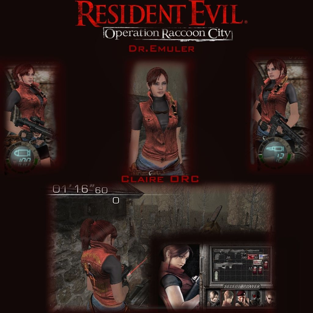 Claire Operation Raccoon City *NUEVA DIRECTO DE RE ORC* [DR.EMULER] Claire11