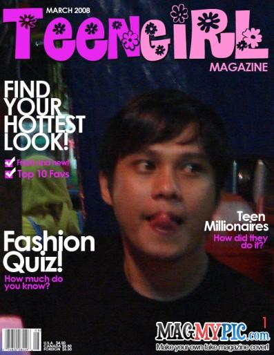 Sapa Nak Jadi Cover Magazine? Fakhru10