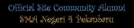 The Commnunity of Alumni SMUN 4 Pekanbaru