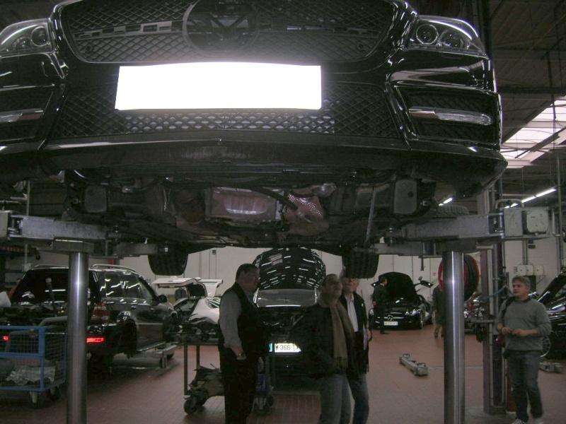 """Le 5/112011 après-midi """"Mercedes-Benz Passion au centre Technique MB de Stains Dscn5947"""