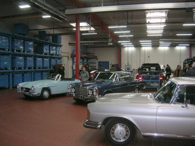 """Le 5/112011 après-midi """"Mercedes-Benz Passion au centre Technique MB de Stains Dscn6011"""