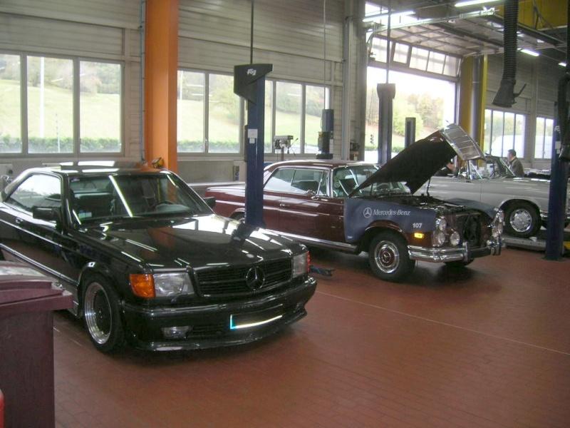 """Le 5/112011 après-midi """"Mercedes-Benz Passion au centre Technique MB de Stains Dscn6012"""