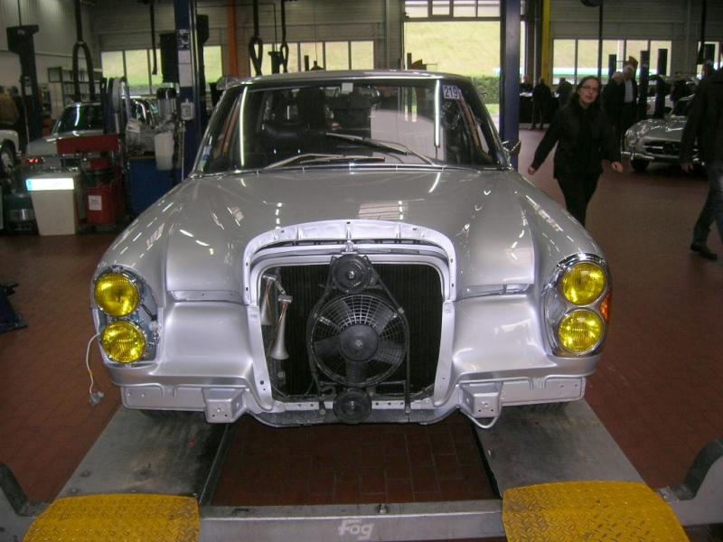 """Le 5/112011 après-midi """"Mercedes-Benz Passion au centre Technique MB de Stains Dscn6022"""