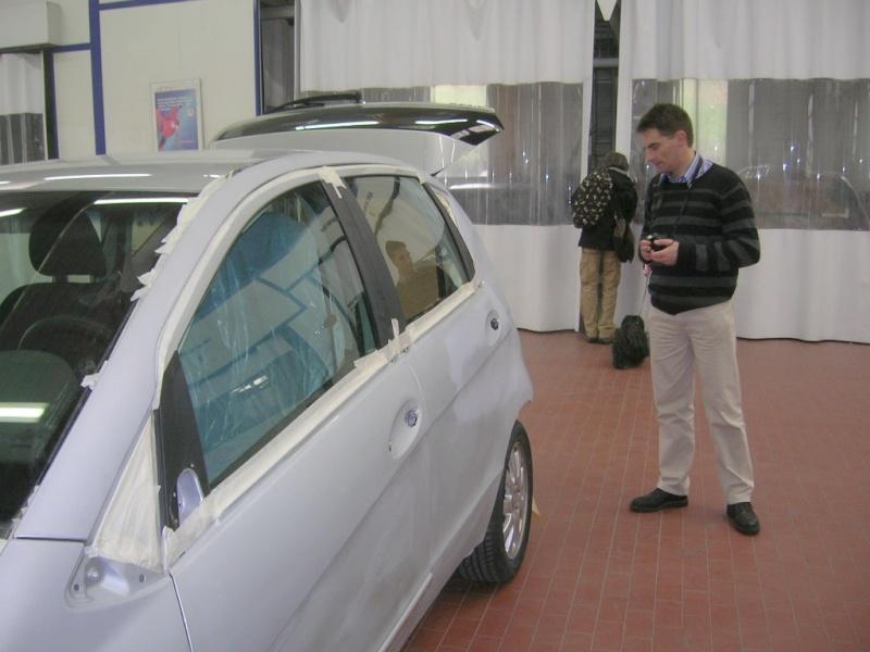 """Le 5/112011 après-midi """"Mercedes-Benz Passion au centre Technique MB de Stains Dscn6026"""