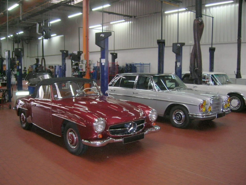 """Le 5/112011 après-midi """"Mercedes-Benz Passion au centre Technique MB de Stains Dscn6044"""