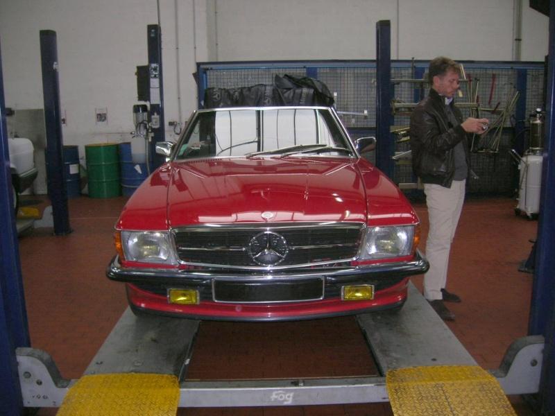 """Le 5/112011 après-midi """"Mercedes-Benz Passion au centre Technique MB de Stains Dscn6045"""