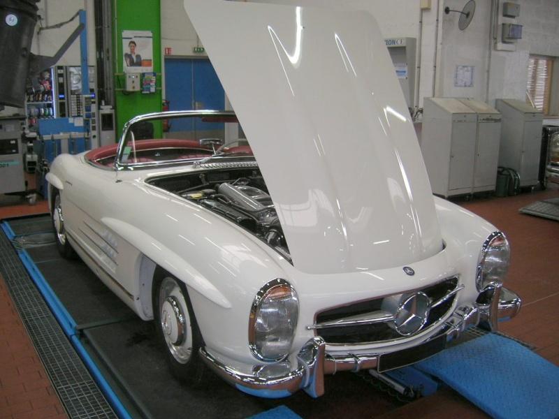 """Le 5/112011 après-midi """"Mercedes-Benz Passion au centre Technique MB de Stains Dscn6048"""
