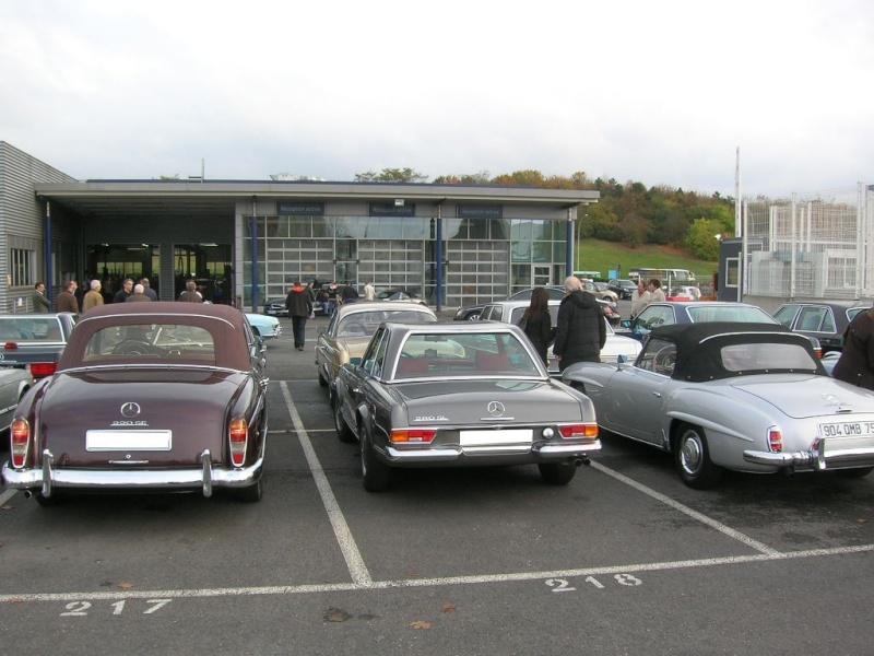 """Le 5/112011 après-midi """"Mercedes-Benz Passion au centre Technique MB de Stains Dscn6057"""