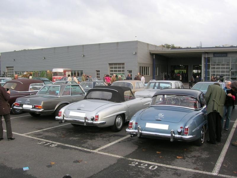 """Le 5/112011 après-midi """"Mercedes-Benz Passion au centre Technique MB de Stains Dscn6058"""