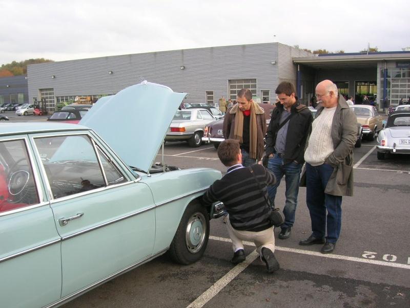 """Le 5/112011 après-midi """"Mercedes-Benz Passion au centre Technique MB de Stains Dscn6063"""