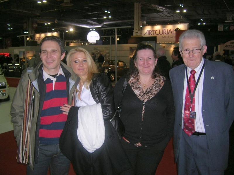 Salon Rétromobile du 1er au 5 février 2012 - Paris, Porte de Versailles Dscn6219
