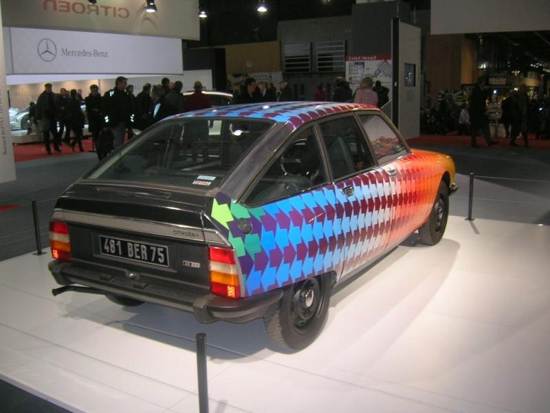 Salon Rétromobile du 1er au 5 février 2012 - Paris, Porte de Versailles Dscn6226