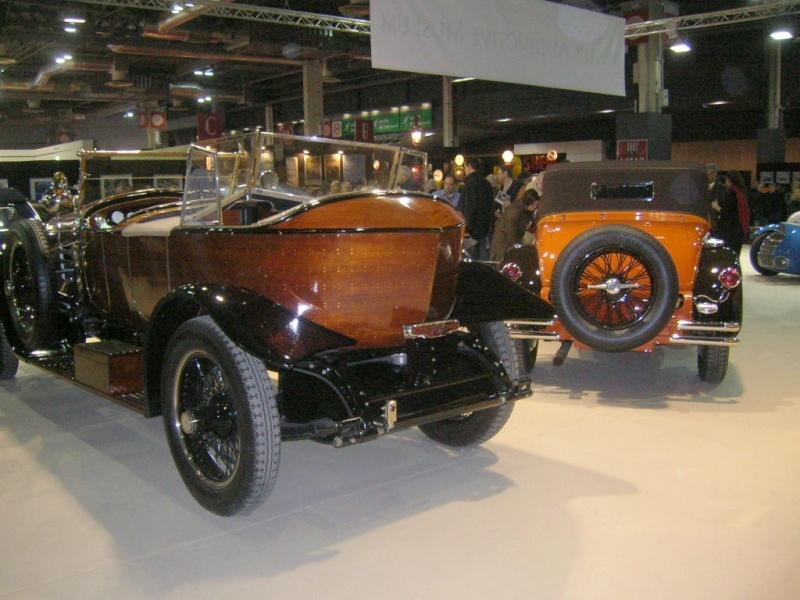 Salon Rétromobile du 1er au 5 février 2012 - Paris, Porte de Versailles Dscn6233