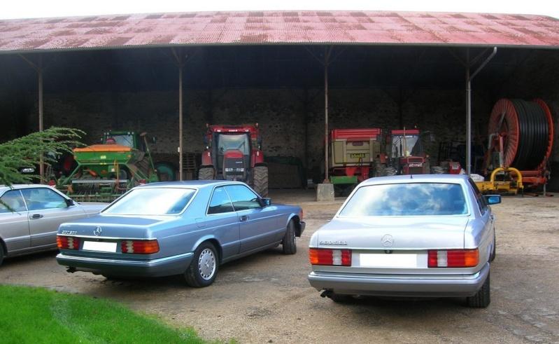 Des 560 SEC à la ferme dans le 91 Dscn7018