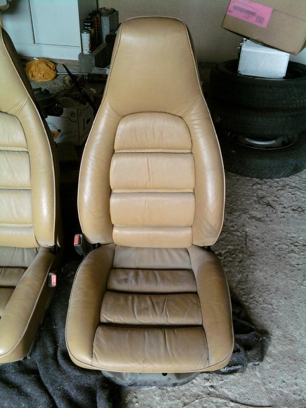 siege 911 cuir beige electrique Sp_a0611