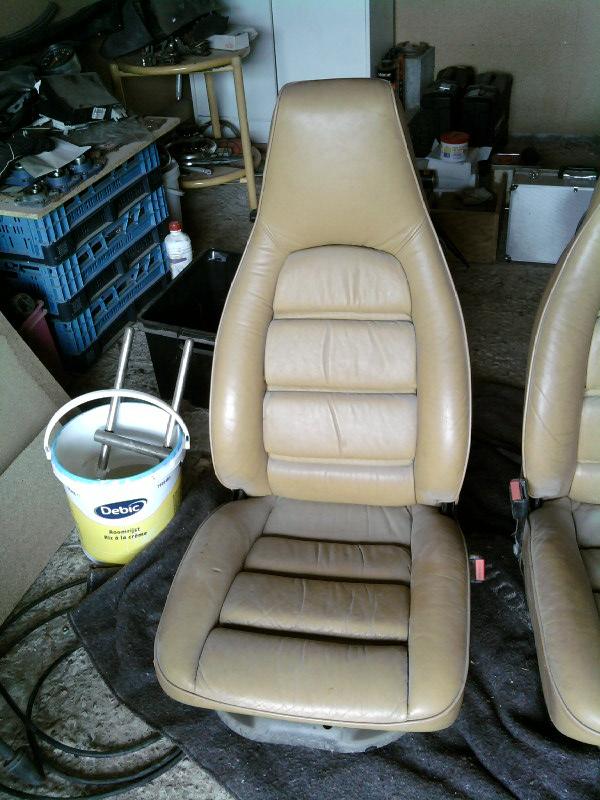 siege 911 cuir beige electrique Sp_a0612