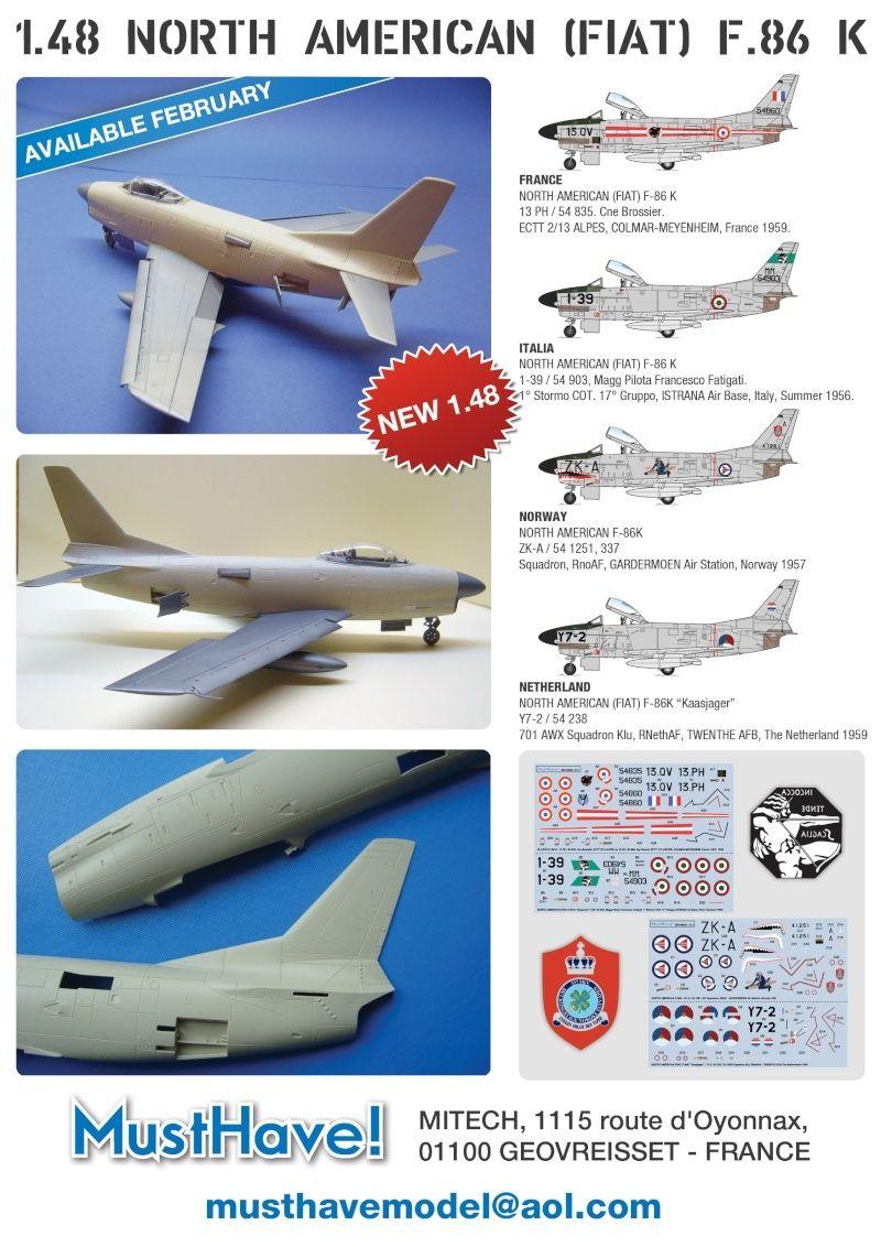 TESTSHOTS - 1/48 F-86 K Sabre from MustHave! Leafle10