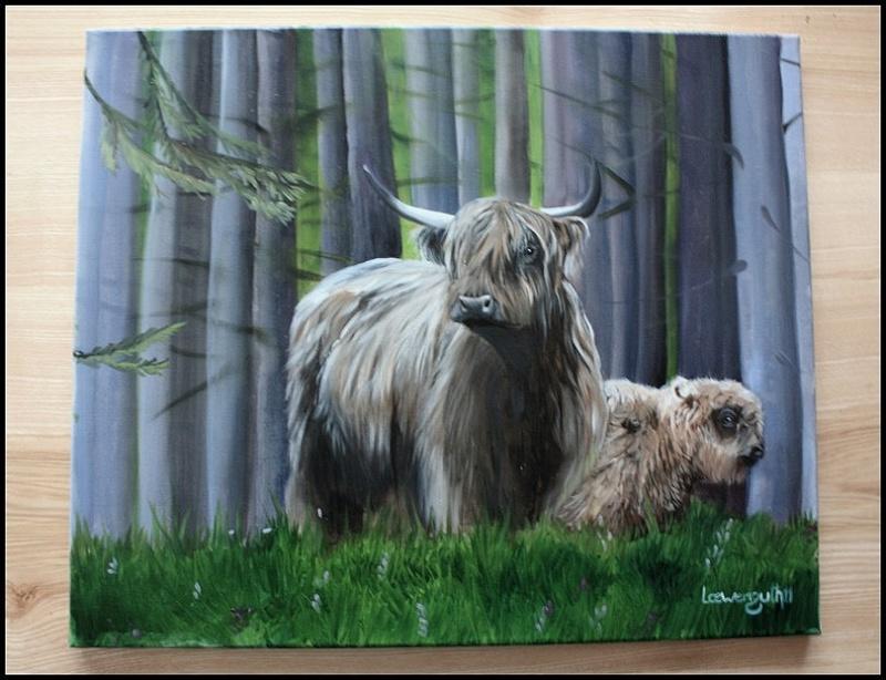 Votre Highland sur une toile... Img_5819
