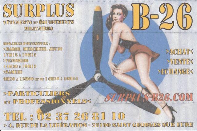 SURPLUS B-26 Img11