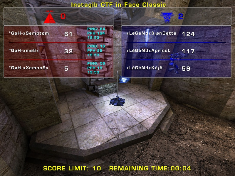 Result second Clanwar in Tournament against GoH Clanwa15