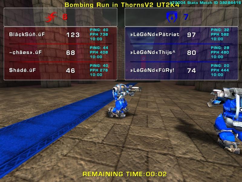 Match »LèGéNd« vs .úF   Friday 11 July 2008 21:00 hours (iMix Tournament) Legend14
