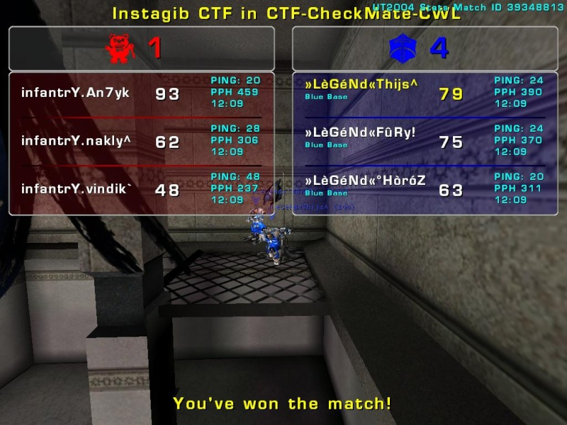 Match »LèGéNd« vs infantrY.   Tuesday 15 July 2008 21:00 hours (iMix Tournament) War_ch10