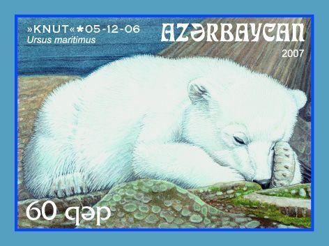 Eisbär Knut auch auf Briefmarke 18114211