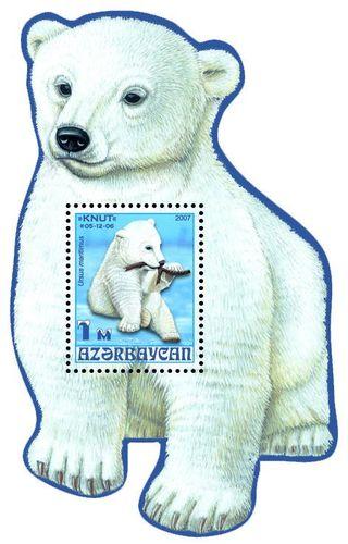 Eisbär Knut auch auf Briefmarke 18114311
