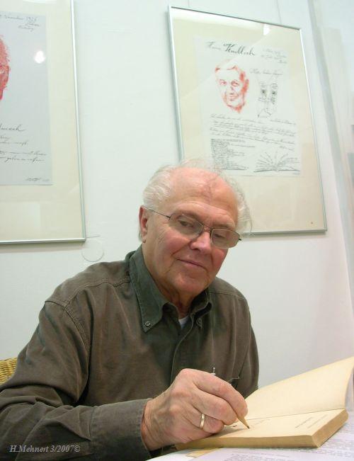 Plauderei mit dem Künstler Wolfgang Würfel Wolfgw10