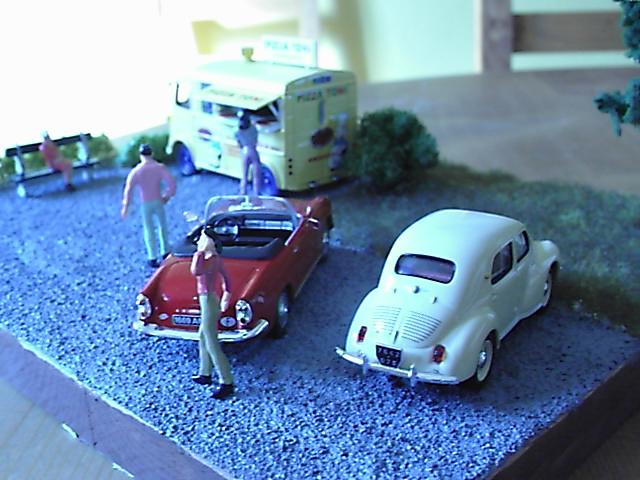 Diorama Citroen Type H Pizza Pic00710