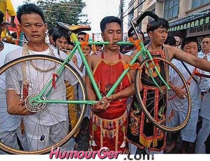 humour velo fleur Bv000035