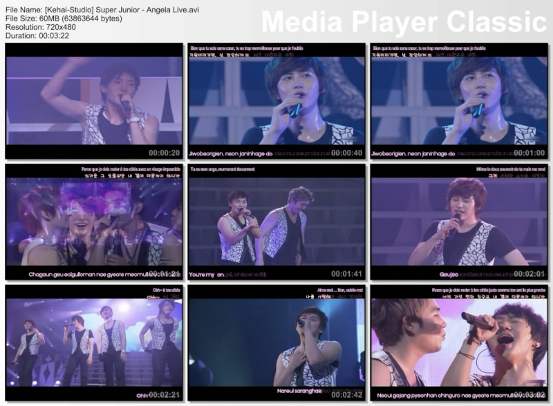 [K-music] Super Junior - Angela (Live) Thumbs25