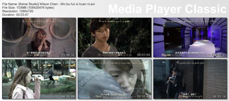 [Tw-music] Wilson Chen - Wo Bu Hui Xi Huan Ni (In Time With You) Thumbs57