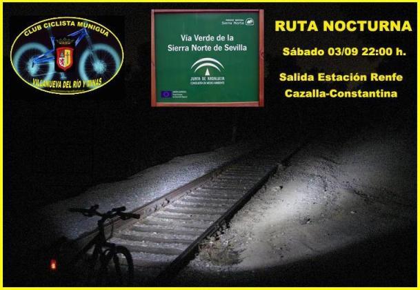 RUTA LIBRE NOCTURNA VIA VERDE DE LA SIERRA NORTE 03-09-11 Cartel12