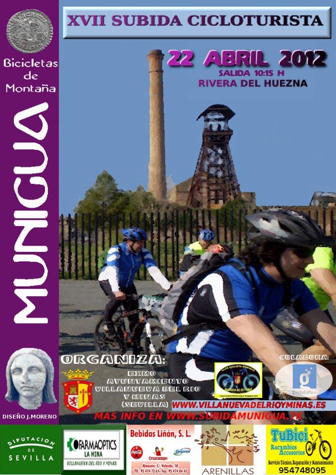 XVII SUBIDA CICLOTURISTA SANTUARIO ROMANO MUNIGUA 22-04-12 Cartel14