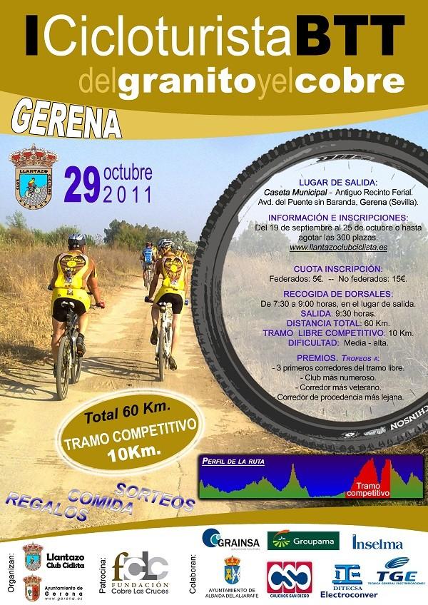 I RUTA CICLOTURISTA GRANITO Y COBRE GERENA 29-10-11 Ciclot10