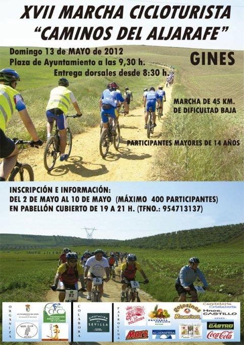 "XVIII MARCHA CICLOTURISTA ""CAMINOS DEL ALJARAFE"" GINES 13-05-12 Gines-10"