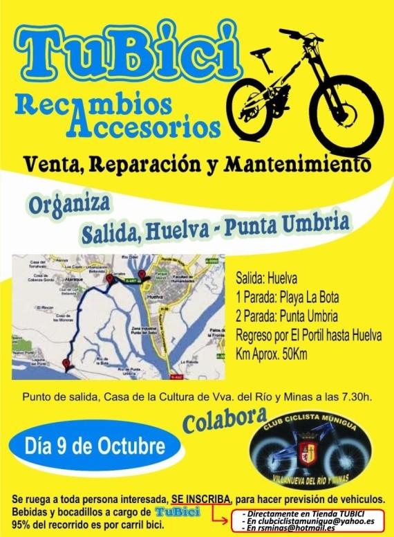 RUTA HUELVA-PUNTA UMBRÍA-EL PORTIL 09-10-11 Ruta_h11
