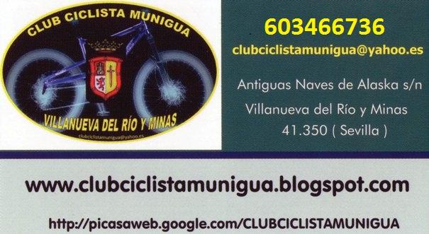NUEVO TELÉFONO INFORMACIÓN C.C. MUNIGUA Tarjet10